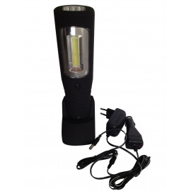 LAMPARA TALLER LED 3W COB RECARGABLE